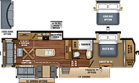 2019 Jayco North Point 315RLTS Fifth Wheel