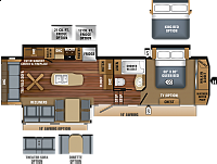 2019 Jayco Eagle 321RSTS Fifth Wheel