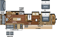 2019 Jayco North Point 381DLQS Fifth Wheel