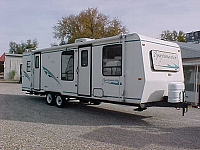 1998 SPORTSMASTER 301T TRAVEL TRAILER H17819