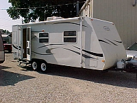 2006 Trail Sport 22QB travel trailer H19818