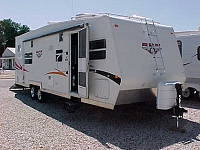 2008 ADVENTURE TIMBERLAND 26FBS RPM TOY HAULER H18921