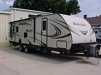2015 KEYSTONE BULLET 285RLS TRAVEL TRAILER H17814