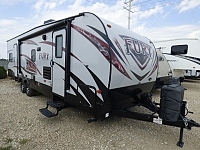 2017 Prime Time Fury 2912X Toy Hauler Travel Trailer
