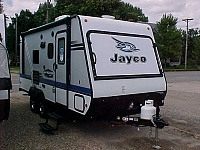 2018 JAYCO JAY FEATHER 17XFD HYBRID EXPANDABLE TRAVEL TRAILER H17108
