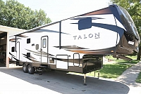 2019 JAYCO TALON 313T FIFTH WHEEL TOY HAULER H18782