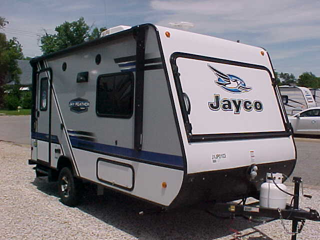 Rv Trade In Value >> 2018 JAYCO JAY FEATHER 16XRB HYBRID EXPANDABLE TRAVEL TRAILER H17105