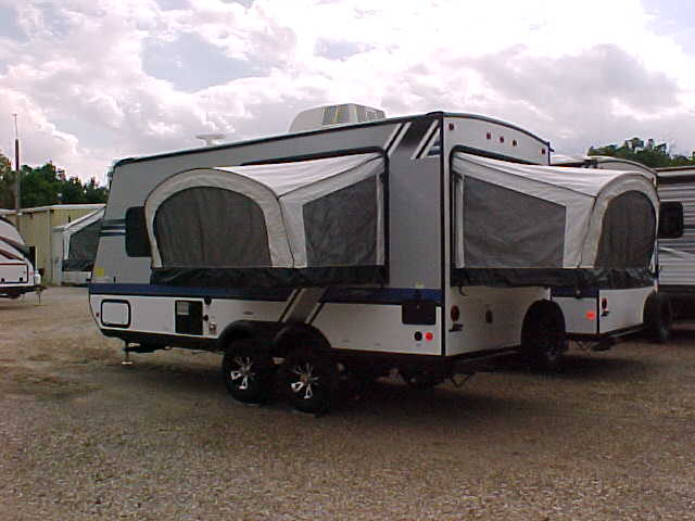 Expandable Travel Trailers >> 2018 Jayco Jay Feather 17xfd Hybrid Expandable Travel Trailer H17108